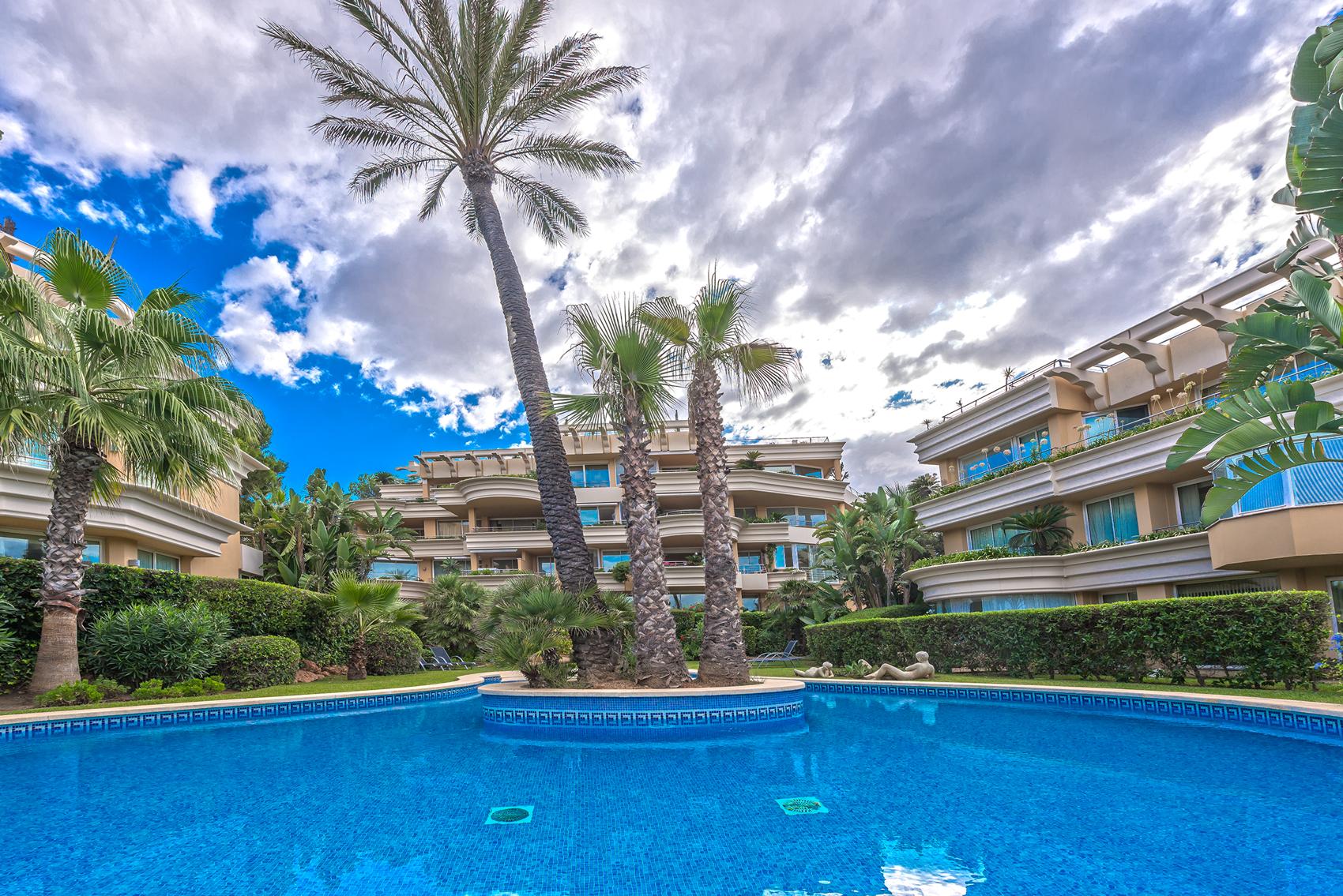 Apartment Mallorca Nova Santa Ponsa with sea views