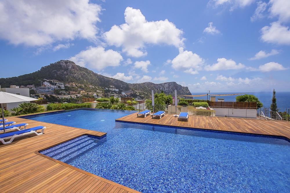 Apartment mit Meerblick auf Mallorca
