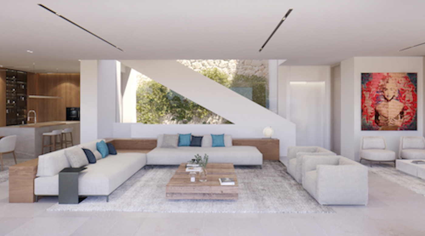 Wohnbereich Villa Mallorca