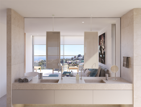 Badezimmer Neubauprojekt Mallorca