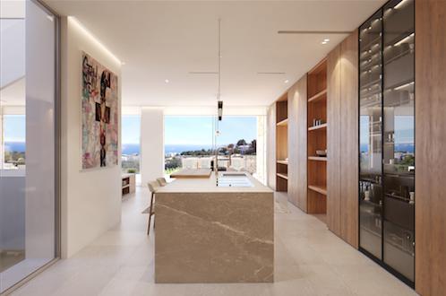 Küche Neubauprojekt Mallorca
