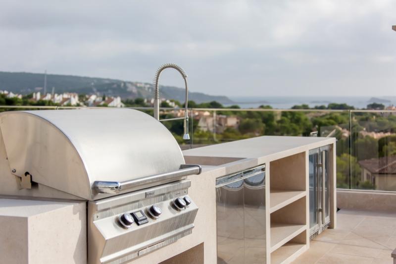 Dachterrasse mit Meerblick auf Mallorca
